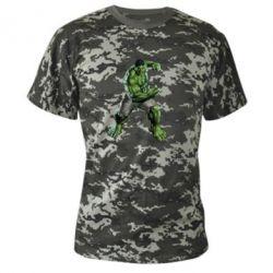 Камуфляжная футболка Big Hulk - FatLine