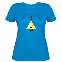 Женская футболка Билл Шифр - FatLine