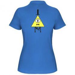 Женская футболка поло Билл Шифр - FatLine
