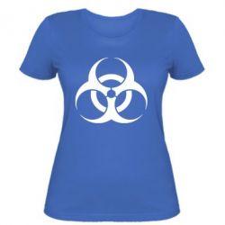 Женская футболка biohazard - FatLine