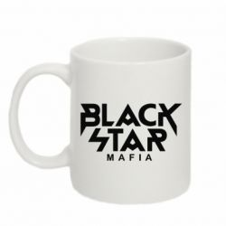 Кружка 320ml Black Star Mafia