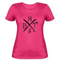 Женская футболка BMTH - FatLine