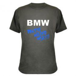 Камуфляжная футболка BMW Bratve mojno wse!!! - FatLine
