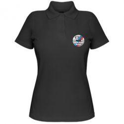 Женская футболка поло BMW E30 Ultimate Driving Machine - FatLine