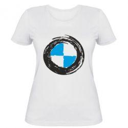 Женская футболка BMW Graffity