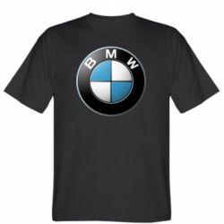 Мужская футболка BMW Logo 3D - FatLine