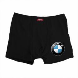Мужские трусы BMW Logo 3D - FatLine