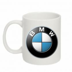 Кружка 320ml BMW Logo 3D - FatLine