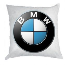 Подушка BMW Logo 3D - FatLine