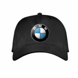 Детская кепка BMW Logo 3D - FatLine