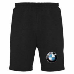 Мужские шорты BMW Logo 3D - FatLine