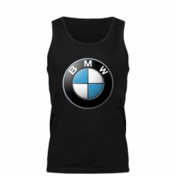 Мужская майка BMW Logo 3D - FatLine