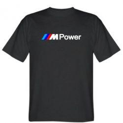 Мужская футболка BMW M Power logo - FatLine