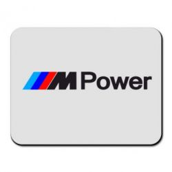Коврик для мыши BMW M Power logo - FatLine