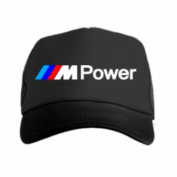 Кепка-тракер BMW M Power logo - FatLine