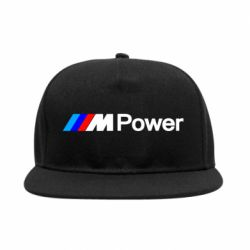 Снепбек BMW M Power logo - FatLine