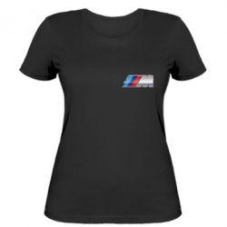 Женская футболка BMW M POWER Small - FatLine