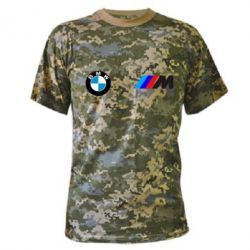 Камуфляжная футболка BMW M - FatLine