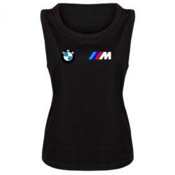 Женская майка BMW M - FatLine
