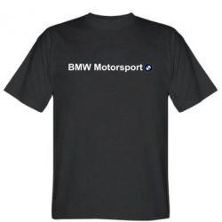 Мужская футболка BMW Motorsport - FatLine