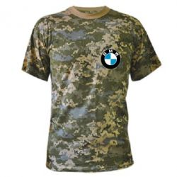 Камуфляжная футболка BMW Small - FatLine