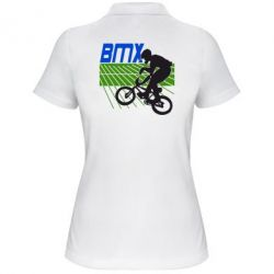 Женская футболка поло BMX Sport - FatLine