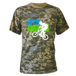 Камуфляжная футболка BMX Sport - FatLine