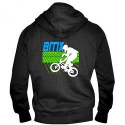 Мужская толстовка на молнии BMX Sport - FatLine