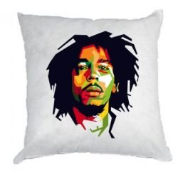 Подушка Bob Marley Color Art