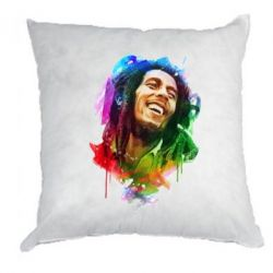 Подушка Bob Marley Colorful Art