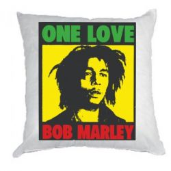 Подушка Bob Marley One Love