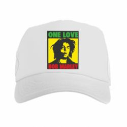Кепка-тракер Bob Marley One Love - FatLine