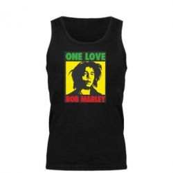 Мужская майка Bob Marley One Love - FatLine