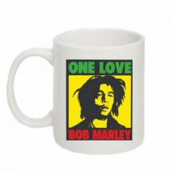 Кружка 320ml Bob Marley One Love - FatLine
