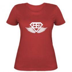 Женская футболка Body Engineers