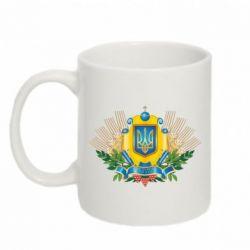 Кружка 320ml Бог береже Україну