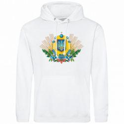 Мужская толстовка Бог береже Україну