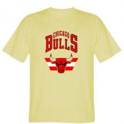 Мужская футболка Большой логотип Chicago Bulls - FatLine