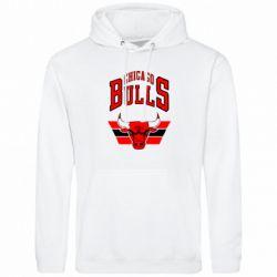 Толстовка Большой логотип Chicago Bulls - FatLine