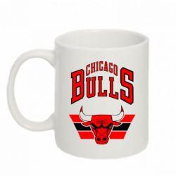Кружка 320ml Большой логотип Chicago Bulls - FatLine