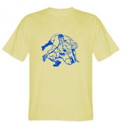 Мужская футболка Борцы - FatLine