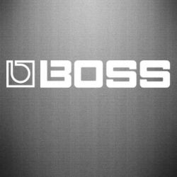 Наклейка Boss audio