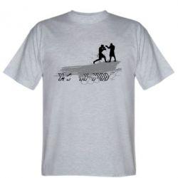 Мужская футболка Boxing Art - FatLine