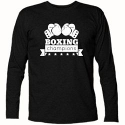 Футболка с длинным рукавом Boxing Champions - FatLine