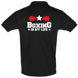 Футболка Поло Boxing is my life