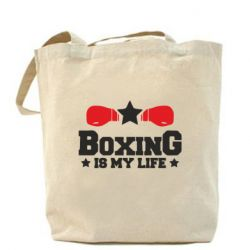 Сумка Boxing is my life