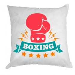 Подушка Boxing Logo - FatLine