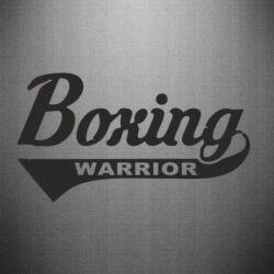 Наклейка Boxing Warrior