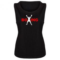 Женская майка BoXing X - FatLine