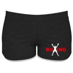 Женские шорты BoXing X - FatLine